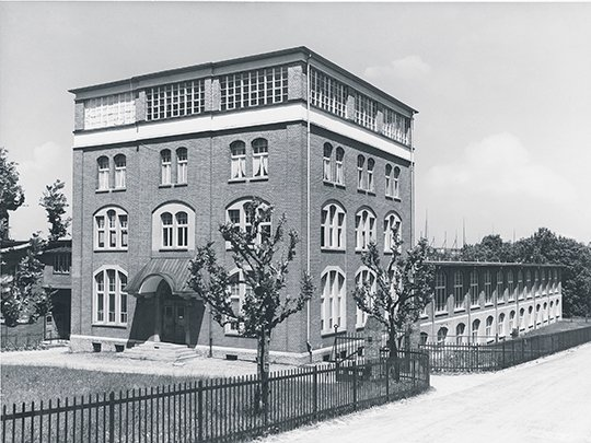 1928 Ganzoni factory in St. Gallen