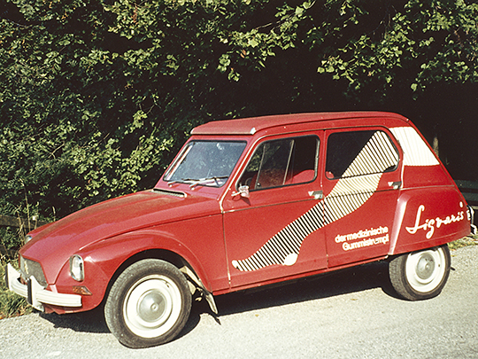 1973 2CV Sigvaris labelled company car