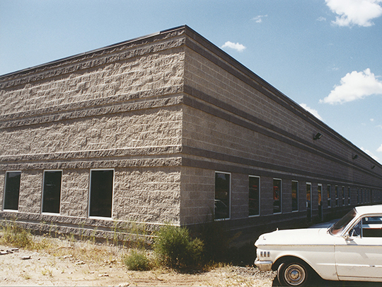 1988 Sigvaris factory building in Brandford