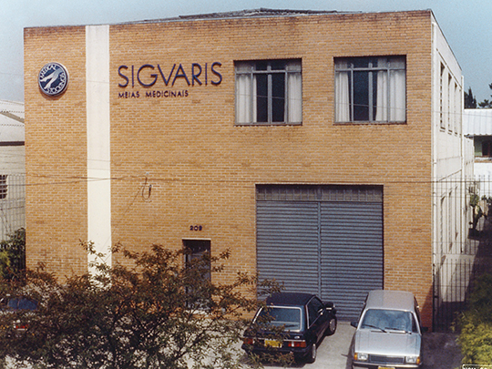 1988 Sigvaris factory building in Sao Paulo