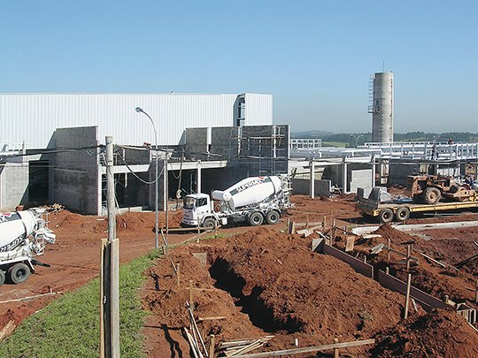 2003 Sigvaris factory building in Brasil